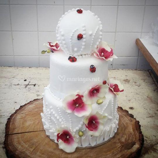 Wedding Cake Orchidée