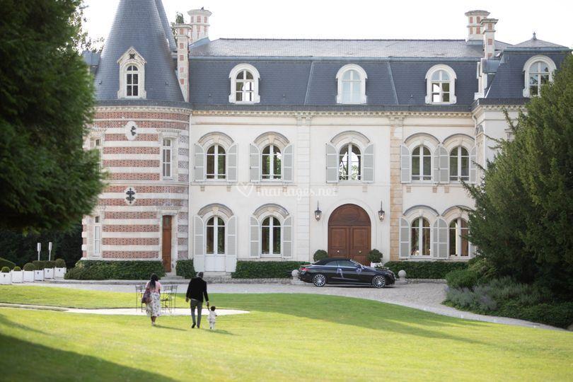 Chateau de mariage