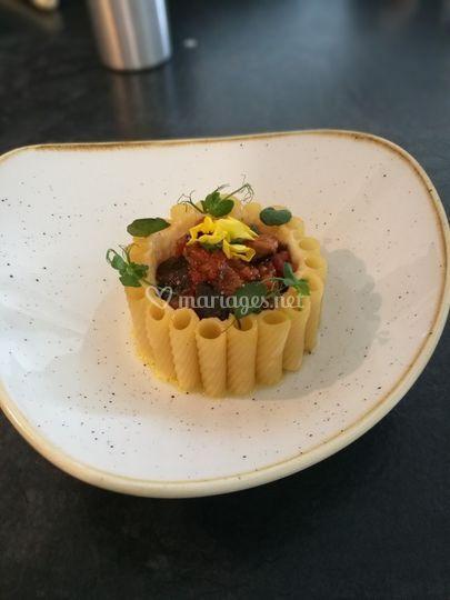 Timbale de macaronie