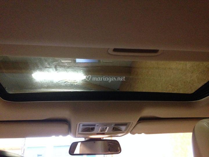 Toit ouvrant Jaguar XF