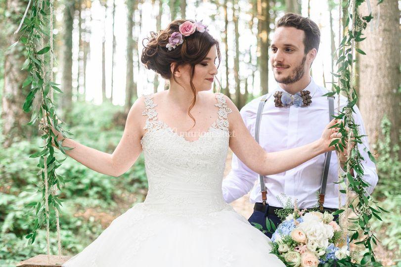 Mariage en foret hope event