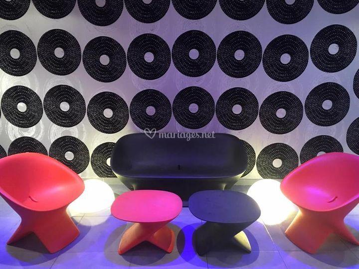 Salle disco