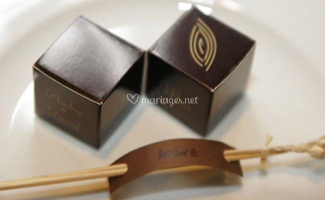 Petite boîte chocolat