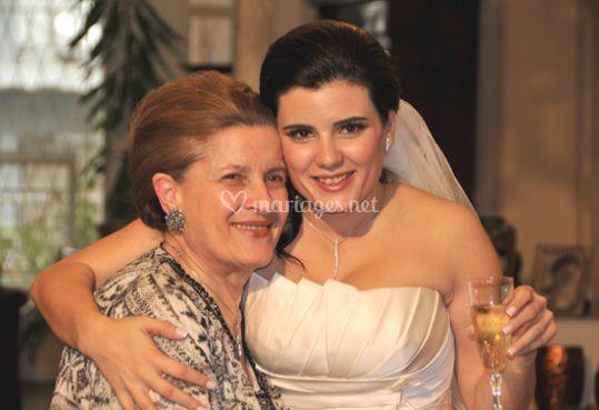 La mariée et sa mamie