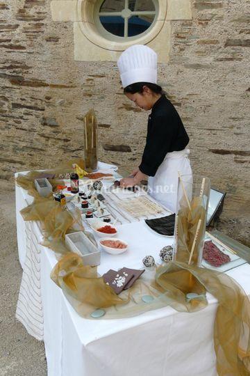Atelier sushis