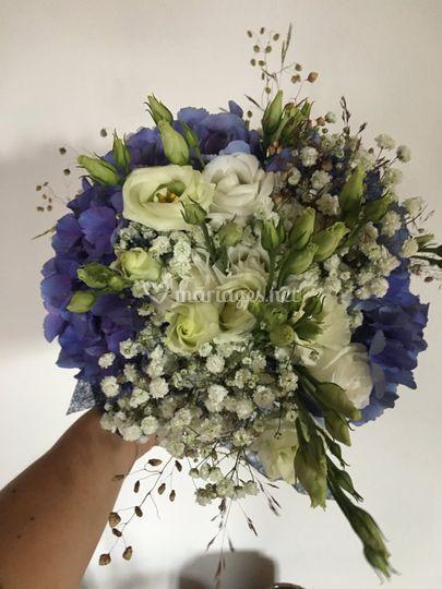 Bouquet de mariée Hortensia