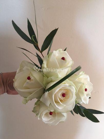 Bouquet de demoiselles Roses