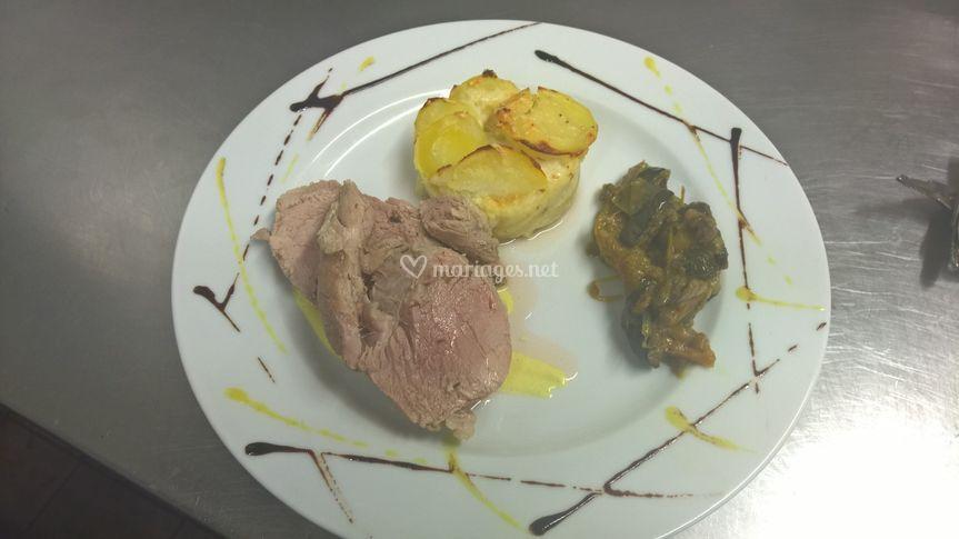 Mignon de porc à la savora