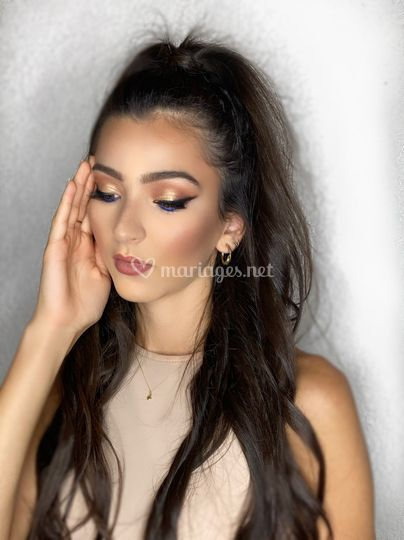 Makeup pailleté