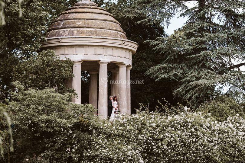 Couple parc de vincennes