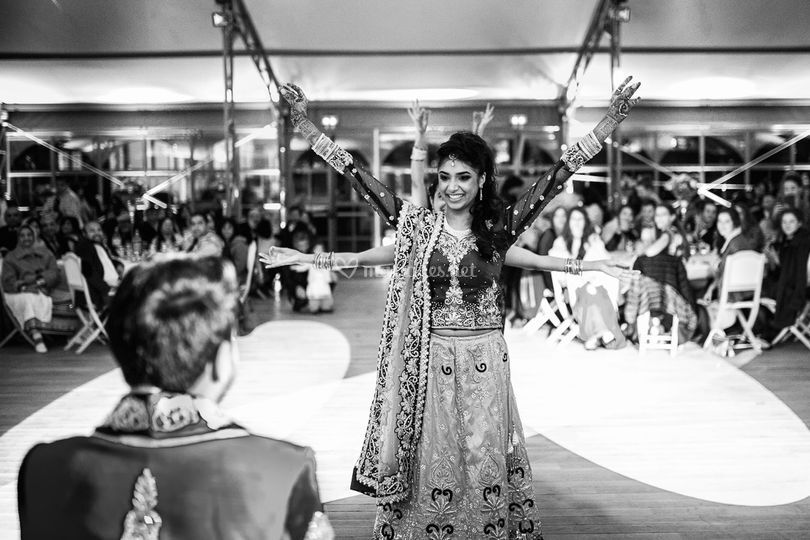 Mariage indien danse