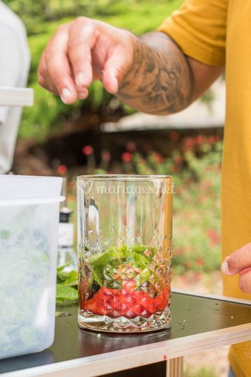 Préparation cocktails