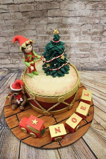Cake design Noël