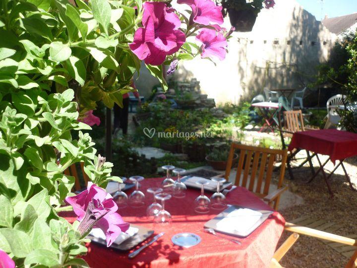 Terrasse au croissant à Buzançais
