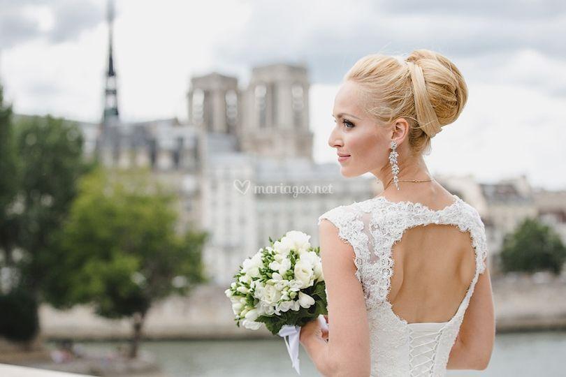 Belle robe pour un mariage