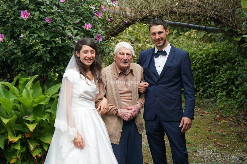 Souvenir avec les aînés
