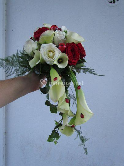 """Bouquet """"coccinelle"""""""