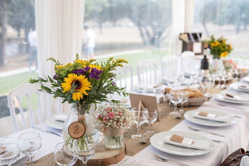 Une jolie table