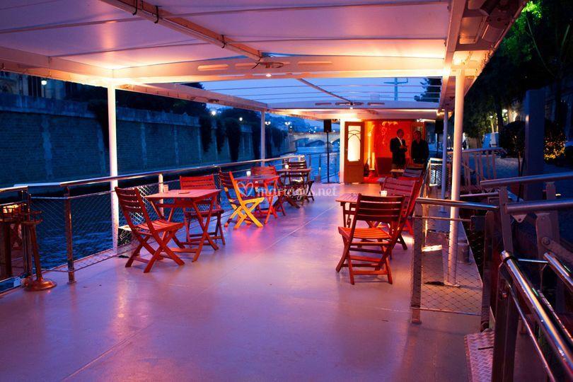 Bateau Ivre Maxim's Terrace