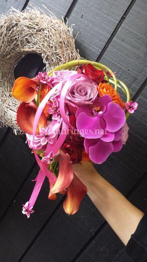Bouquet couleur