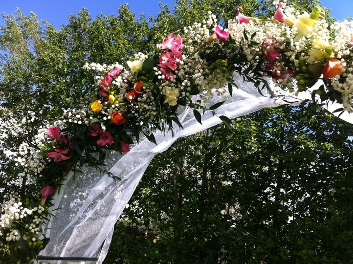Arche fleuries