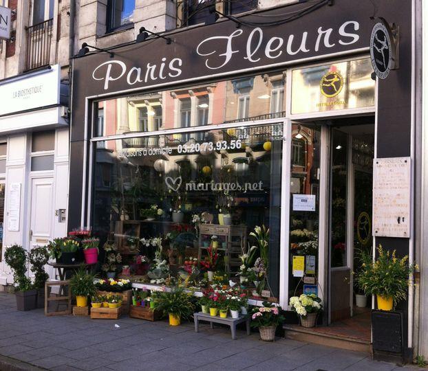 Notre boutique au printemps