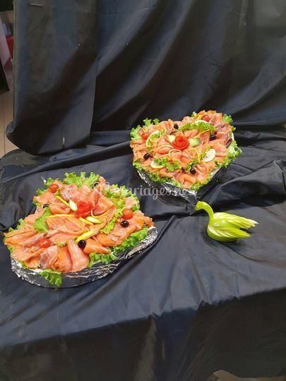Coeurs de saumon