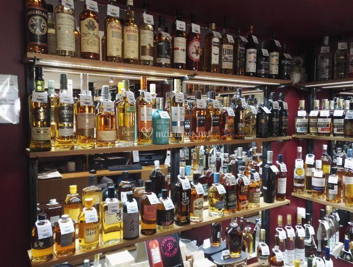 Whisky, Rhums et Spiritueux
