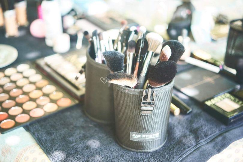 Matériel make-up