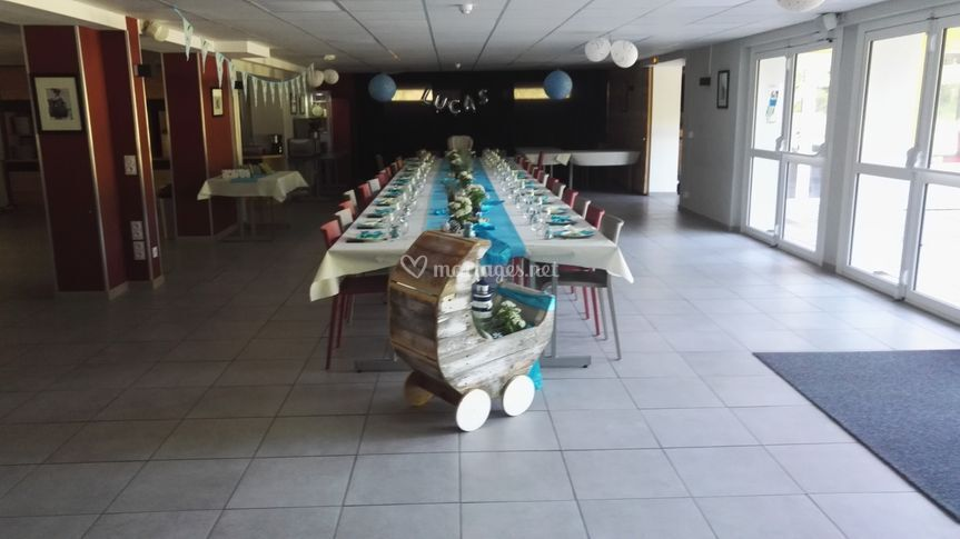 Salle de réception baptême