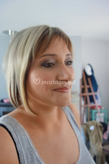 Maquillage témoin