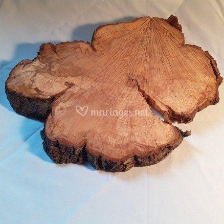 Rondins de bois véritable