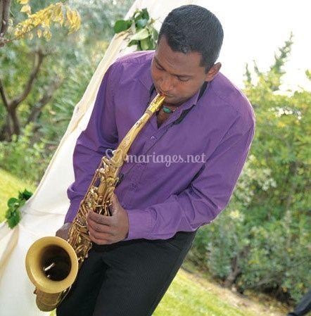 Saxophoniste cocktail & soirée