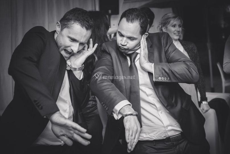 Le marié en mode DJ