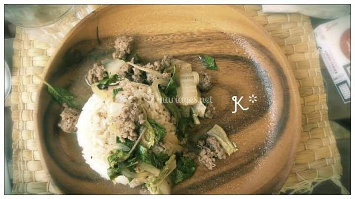 Bœuf Basilic Thai