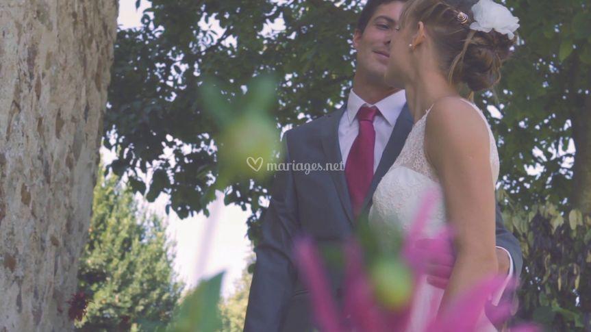 Extrait film teaser mariage sur Myosotis Production