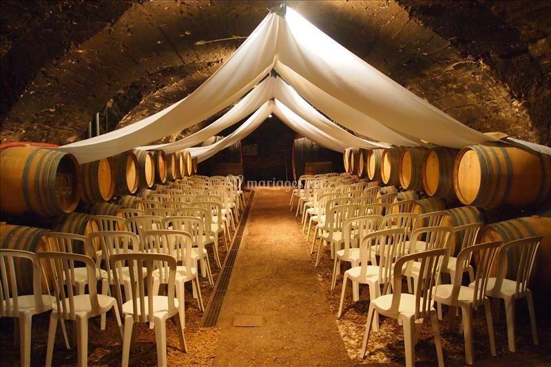 La cave voutée pour cérémonie