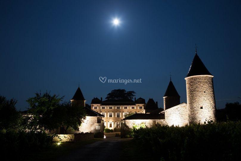 Le Chateau la nuit