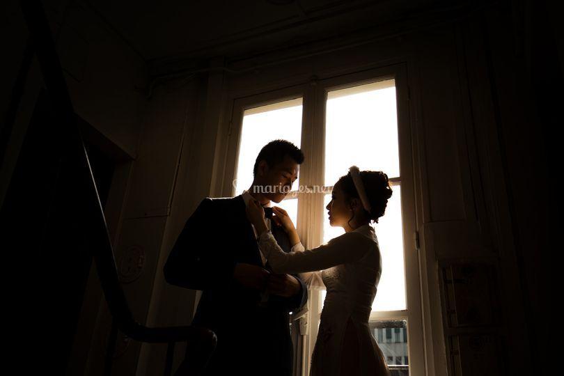 Photo-journalisme de mariage