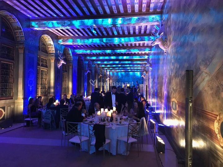 Eclairage - Fontainebleau