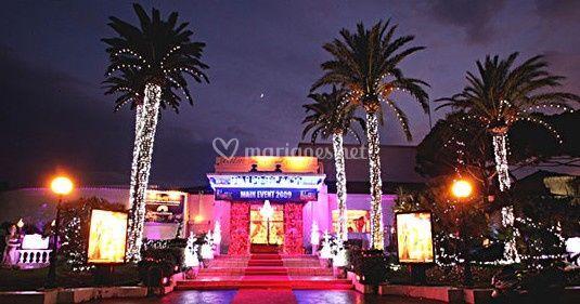 faade sur palm beach casino - Palm Beach Cannes Mariage