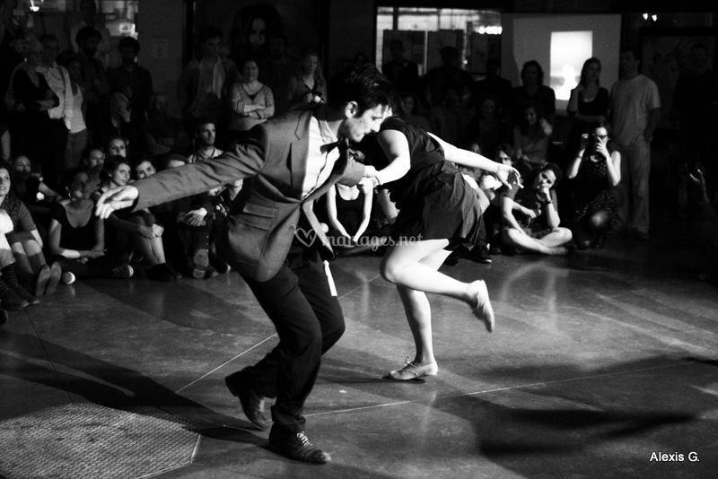 Démonstration de danse