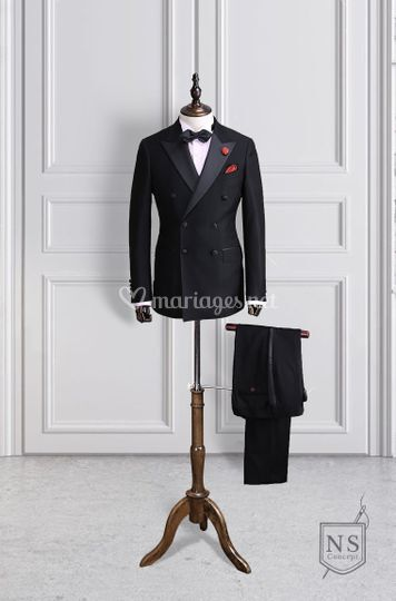 Costume et chemise sur mesure