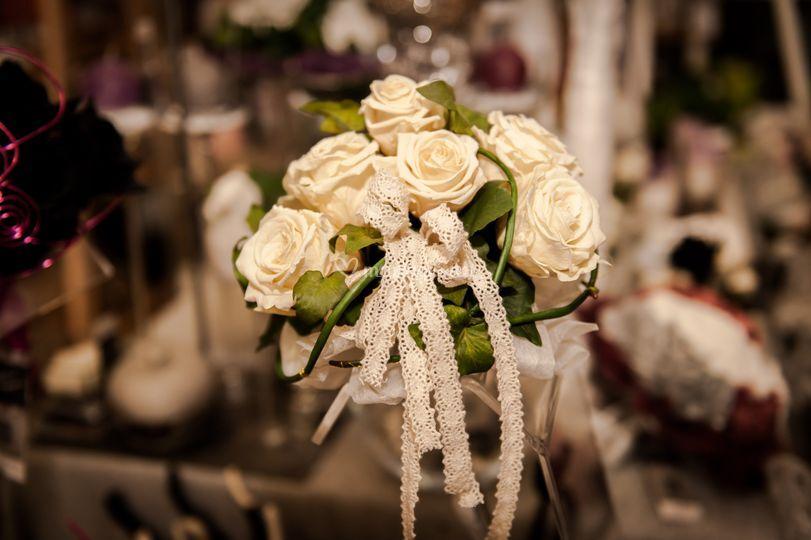 Bouquet en roses stabilisées