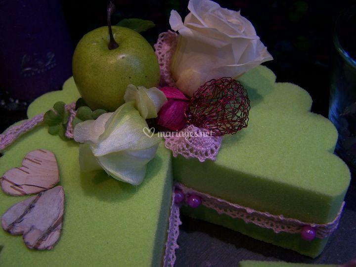 Gâteau pour amoureux