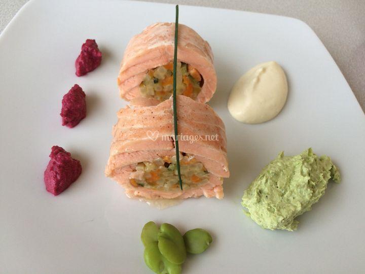 Cannelloni de saumon