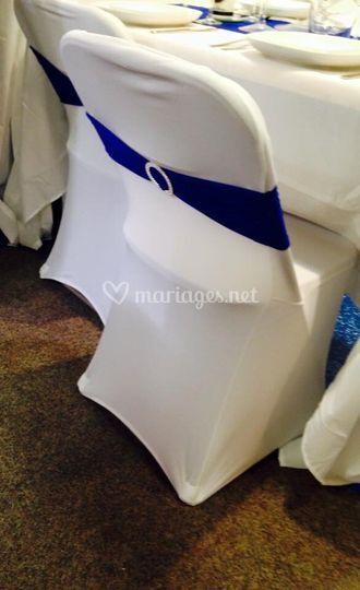 Housse de chaise en location