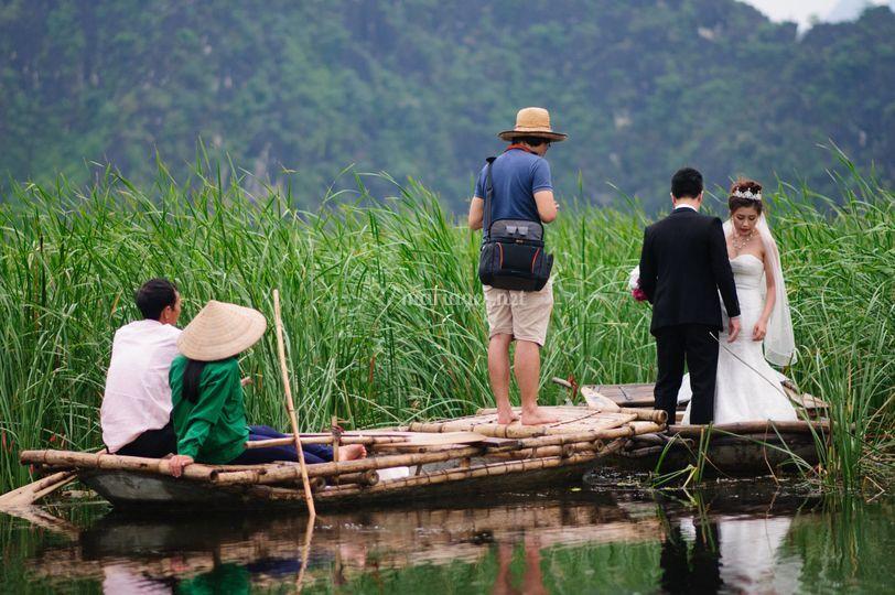 Mariage à la Baie d'Halong
