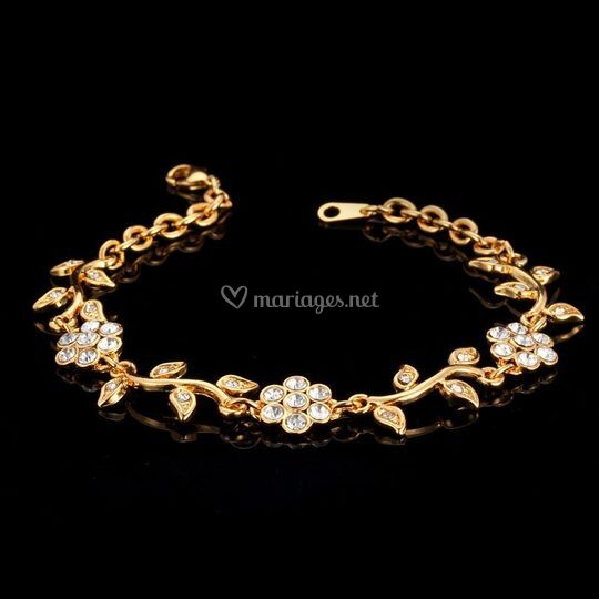 """Bracelet """"Diana"""" ton Or"""