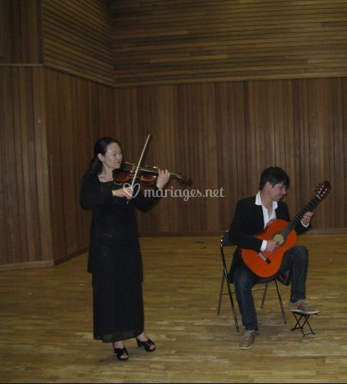 Guitare et violon